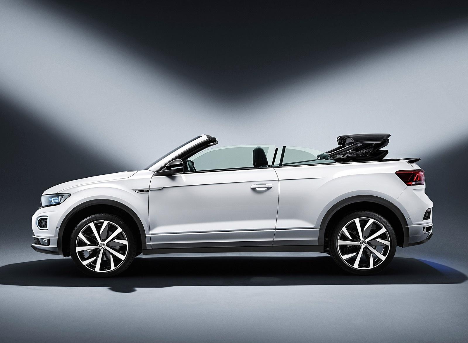 2020 Volkswagen T-Roc Cabriolet Side Wallpapers (15)