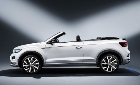 2020 Volkswagen T-Roc Cabriolet Side Wallpapers 450x275 (175)