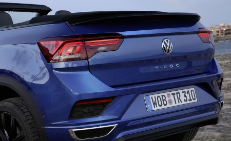 2020 Volkswagen T-Roc Cabriolet Tail Light Wallpapers 450x275 (63)