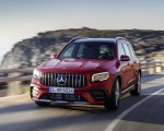 2021 Mercedes-AMG GLB 35 4MATIC (Color: Designo Patagonia Red Metallic) Front Three-Quarter Wallpapers 150x120 (1)