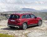 2021 Mercedes-AMG GLB 35 4MATIC (Color: Designo Patagonia Red Metallic) Rear Three-Quarter Wallpapers 150x120 (17)