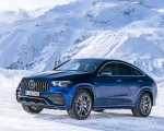 2021 Mercedes-AMG GLE 53 4MATIC Coupe (Color: Brilliant Blue Metallic) Front Three-Quarter Wallpapers 150x120 (6)