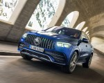 2021 Mercedes-AMG GLE 53 4MATIC Coupe (Color: Brilliant Blue Metallic) Front Wallpapers 150x120 (3)