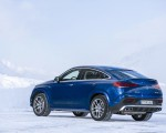 2021 Mercedes-AMG GLE 53 4MATIC Coupe (Color: Brilliant Blue Metallic) Rear Three-Quarter Wallpapers 150x120 (8)