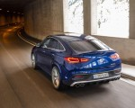 2021 Mercedes-AMG GLE 53 4MATIC Coupe (Color: Brilliant Blue Metallic) Rear Three-Quarter Wallpapers 150x120 (4)