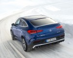 2021 Mercedes-AMG GLE 53 4MATIC Coupe (Color: Brilliant Blue Metallic) Rear Three-Quarter Wallpapers 150x120 (2)
