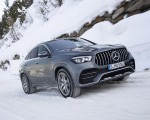 2021 Mercedes-AMG GLE 53 4MATIC Coupe (Color: Selenite Gray Metallic) Front Three-Quarter Wallpapers 150x120 (28)
