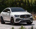 2021 Mercedes-AMG GLE 53 Coupe 4MATIC+ (Color: Designo Diamond White Bright) Front Three-Quarter Wallpapers 150x120 (20)