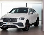 2021 Mercedes-AMG GLE 53 Coupe 4MATIC+ (Color: Designo Diamond White Bright) Front Wallpapers 150x120 (25)