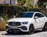 2021 Mercedes-AMG GLE 53 Coupe 4MATIC+ (Color: Designo Diamond White Bright) Front Wallpapers 150x120 (21)