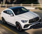 2021 Mercedes-AMG GLE 53 Coupe 4MATIC+ (Color: Designo Diamond White Bright) Front Wallpapers 150x120 (1)