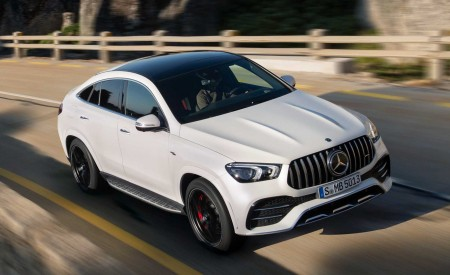 2021 Mercedes-AMG GLE 53 Coupe Wallpapers HD
