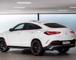 2021 Mercedes-AMG GLE 53 Coupe 4MATIC+ (Color: Designo Diamond White Bright) Rear Three-Quarter Wallpapers 150x120 (26)