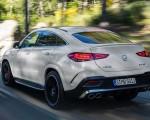 2021 Mercedes-AMG GLE 53 Coupe 4MATIC+ (Color: Designo Diamond White Bright) Rear Three-Quarter Wallpapers 150x120 (3)