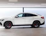 2021 Mercedes-AMG GLE 53 Coupe 4MATIC+ (Color: Designo Diamond White Bright) Side Wallpapers 150x120 (27)