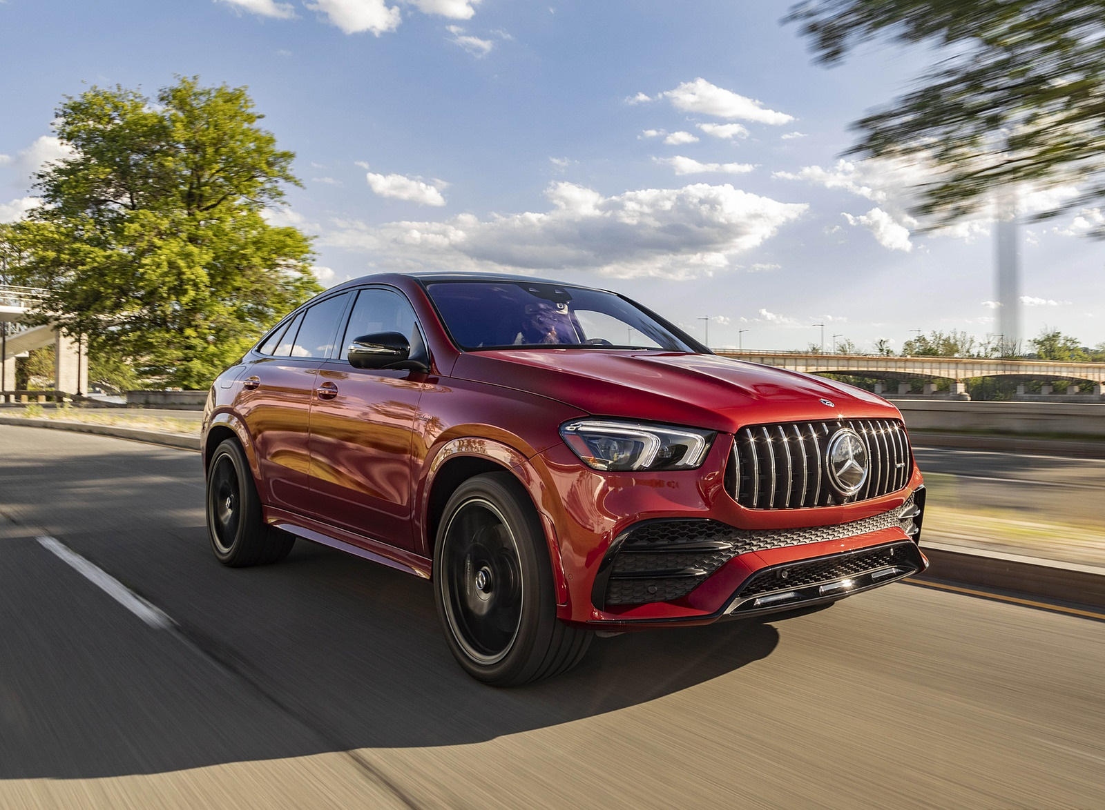 2021 Mercedes-AMG GLE 53 Coupe Front Three-Quarter Wallpapers (2)
