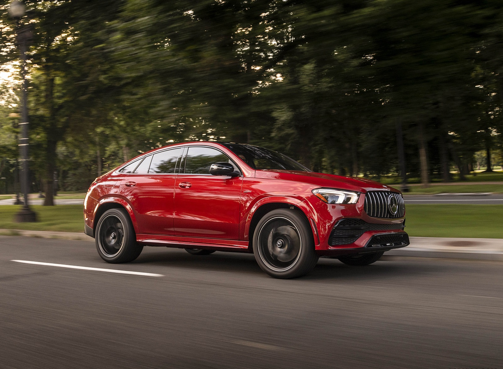 2021 Mercedes-AMG GLE 53 Coupe Front Three-Quarter Wallpapers (3)