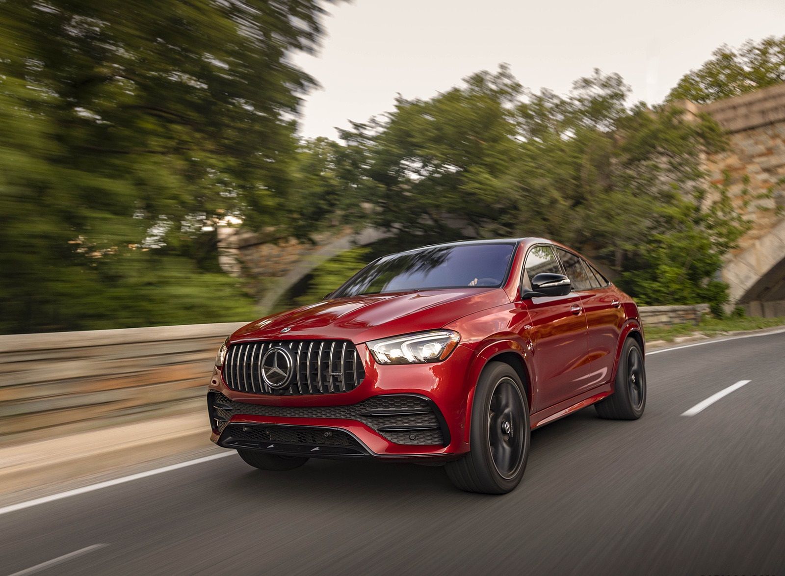 2021 Mercedes-AMG GLE 53 Coupe Front Three-Quarter Wallpapers (5)