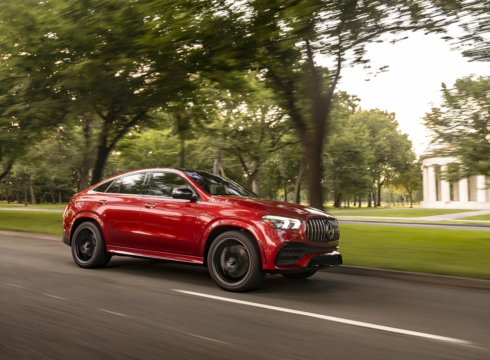 2021 Mercedes-AMG GLE 53 Coupe Front Three-Quarter Wallpapers (6)