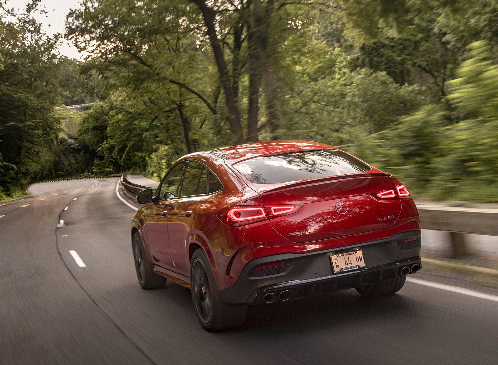 2021 Mercedes-AMG GLE 53 Coupe Rear Three-Quarter Wallpapers (8)