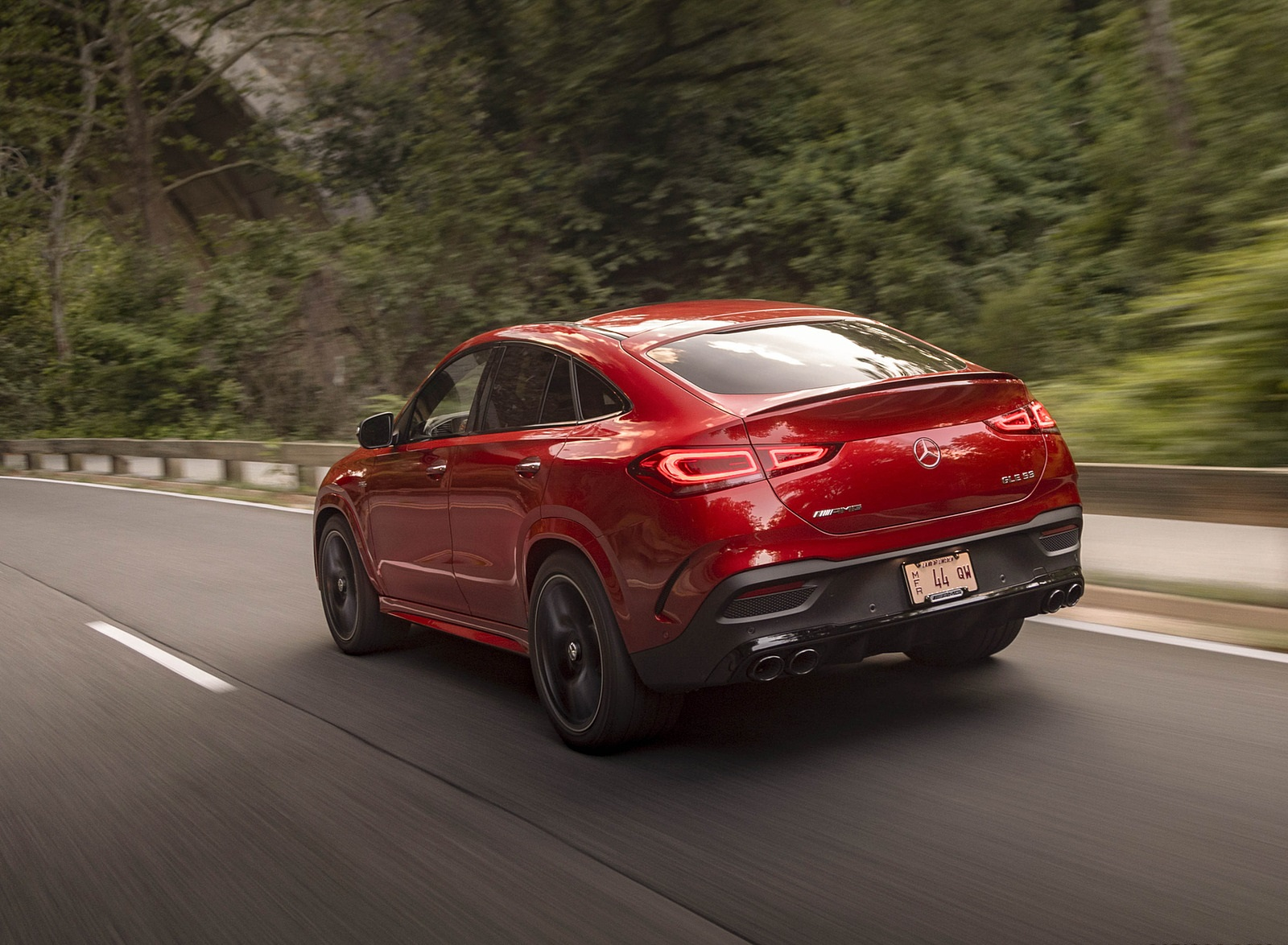2021 Mercedes-AMG GLE 53 Coupe Rear Three-Quarter Wallpapers (9)