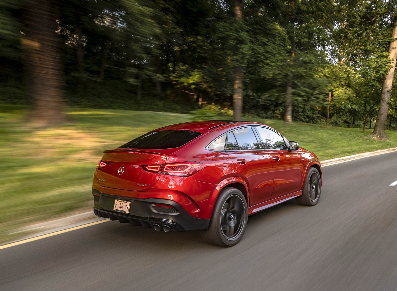 2021 Mercedes-AMG GLE 53 Coupe Rear Three-Quarter Wallpapers (10)