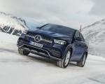2021 Mercedes-Benz GLE Coupe 350 de 4MATIC Coupe (Color: Cavansite Blue Metallic Diesel Plug-In Hybrid) Front Three-Quarter Wallpapers 150x120 (7)
