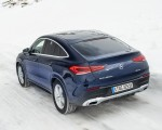 2021 Mercedes-Benz GLE Coupe 350 de 4MATIC Coupe (Color: Cavansite Blue Metallic Diesel Plug-In Hybrid) Rear Three-Quarter Wallpapers (2) 150x120 (11)