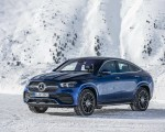 2021 Mercedes-Benz GLE Coupe 400 d 4MATIC Coupe (Color: Brilliant Blue Metallic) Front Three-Quarter Wallpapers 150x120 (4)