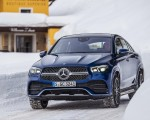 2021 Mercedes-Benz GLE Coupe 400 d 4MATIC Coupe (Color: Brilliant Blue Metallic) Front Wallpapers 150x120 (5)