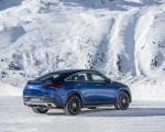2021 Mercedes-Benz GLE Coupe 400 d 4MATIC Coupe (Color: Brilliant Blue Metallic) Rear Three-Quarter Wallpapers 150x120 (6)