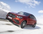 2021 Mercedes-Benz GLE Coupe 400 d 4MATIC Coupe (Color: Designo Hyacinth Red Metallic) Front Three-Quarter Wallpapers 150x120 (16)