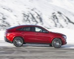 2021 Mercedes-Benz GLE Coupe 400 d 4MATIC Coupe (Color: Designo Hyacinth Red Metallic) Side Wallpapers 150x120 (22)