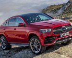 2021 Mercedes-Benz GLE Coupe (Color: Designo Hyacinth Red Metallic) Front Three-Quarter Wallpapers 150x120 (40)