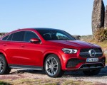 2021 Mercedes-Benz GLE Coupe (Color: Designo Hyacinth Red Metallic) Front Three-Quarter Wallpapers 150x120 (39)