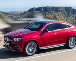 2021 Mercedes-Benz GLE Coupe (Color: Designo Hyacinth Red Metallic) Front Three-Quarter Wallpapers 150x120 (30)