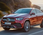 2021 Mercedes-Benz GLE Coupe (Color: Designo Hyacinth Red Metallic) Front Three-Quarter Wallpapers 150x120 (31)
