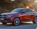 2021 Mercedes-Benz GLE Coupe (Color: Designo Hyacinth Red Metallic) Front Three-Quarter Wallpapers 150x120 (32)
