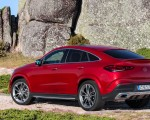 2021 Mercedes-Benz GLE Coupe (Color: Designo Hyacinth Red Metallic) Rear Three-Quarter Wallpapers 150x120 (42)