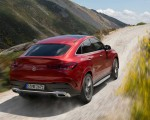 2021 Mercedes-Benz GLE Coupe (Color: Designo Hyacinth Red Metallic) Rear Three-Quarter Wallpapers 150x120 (34)