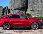 2021 Mercedes-Benz GLE Coupe (Color: Designo Hyacinth Red Metallic) Side Wallpapers 150x120 (44)