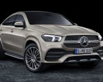 2021 Mercedes-Benz GLE Coupe (Color: Moyave Silver) Front Three-Quarter Wallpapers 150x120 (49)