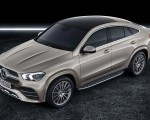 2021 Mercedes-Benz GLE Coupe (Color: Moyave Silver) Front Three-Quarter Wallpapers 150x120 (48)