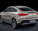 2021 Mercedes-Benz GLE Coupe (Color: Moyave Silver) Rear Three-Quarter Wallpapers 150x120 (50)