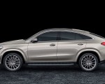 2021 Mercedes-Benz GLE Coupe (Color: Moyave Silver) Side Wallpapers 150x120 (23)