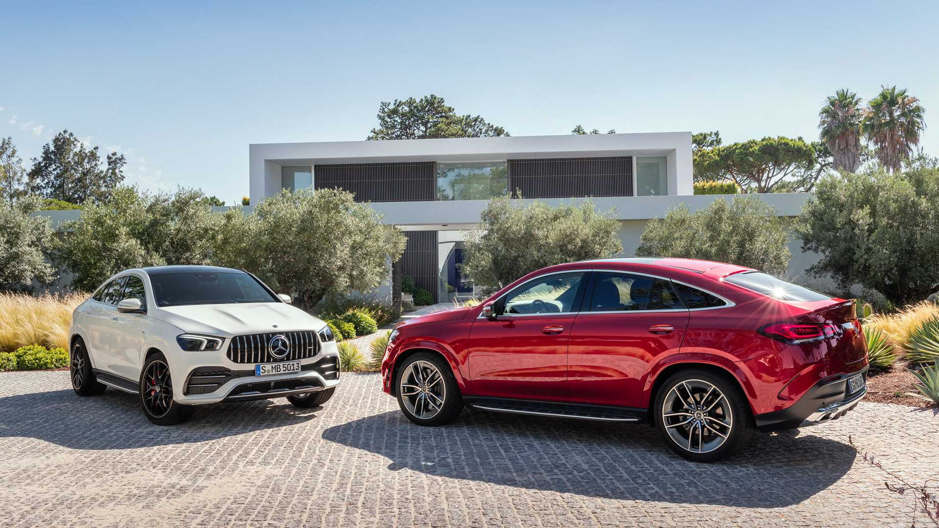 2021 Mercedes-Benz GLE Coupe and GLE 53 AMG Coupe Wallpapers (9)