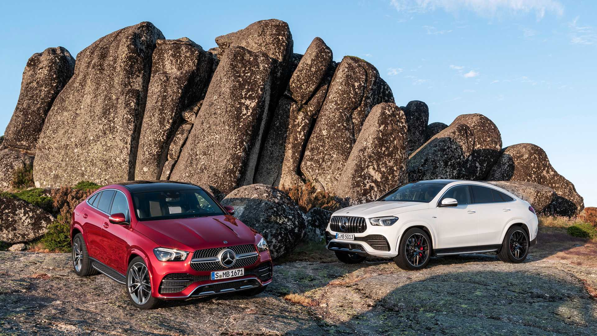 2021 Mercedes-Benz GLE Coupe and GLE 53 AMG Coupe Wallpapers (10)