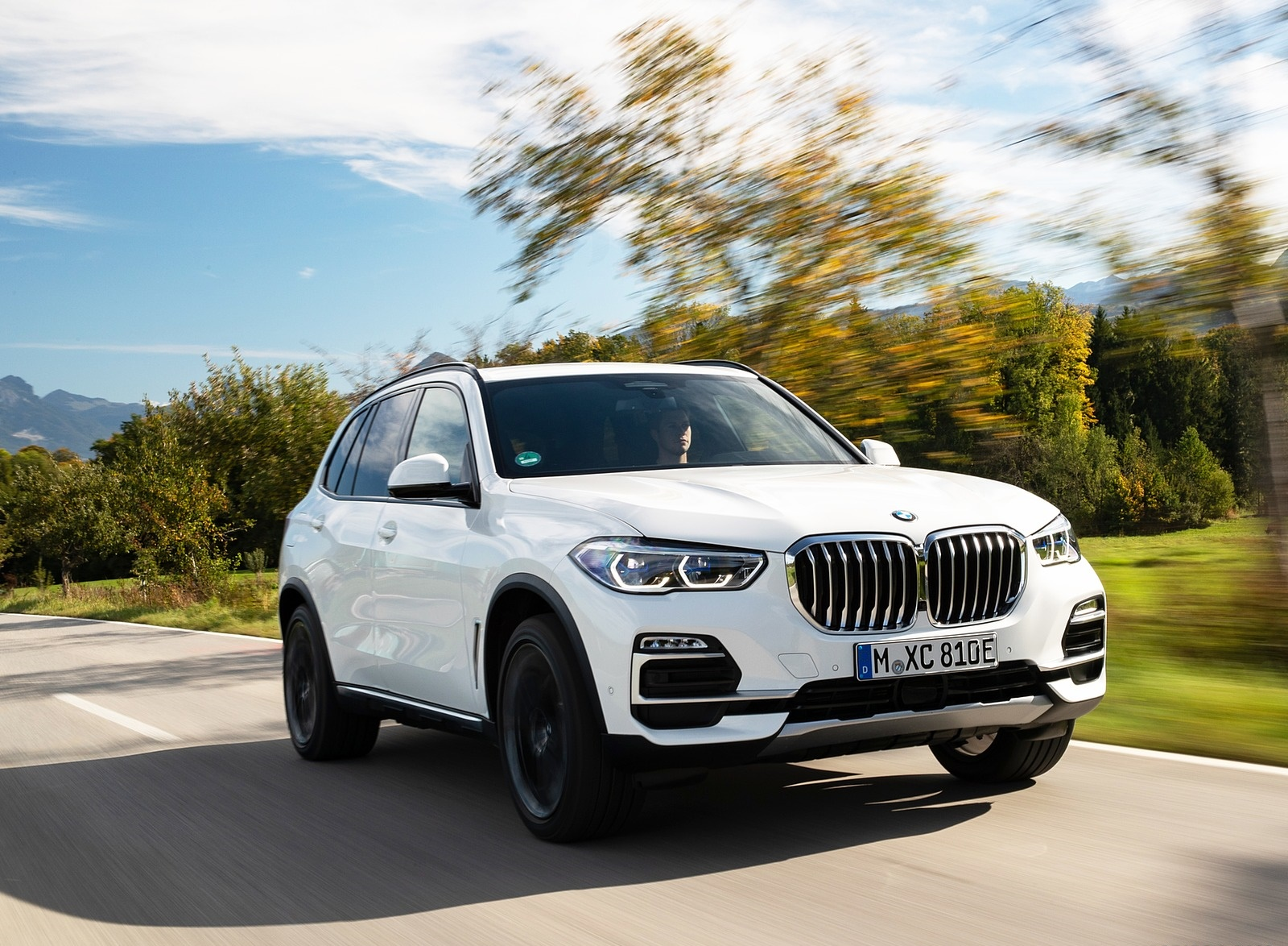 2019 BMW X5 xDrive45e iPerformance Front Three-Quarter Wallpapers (2)