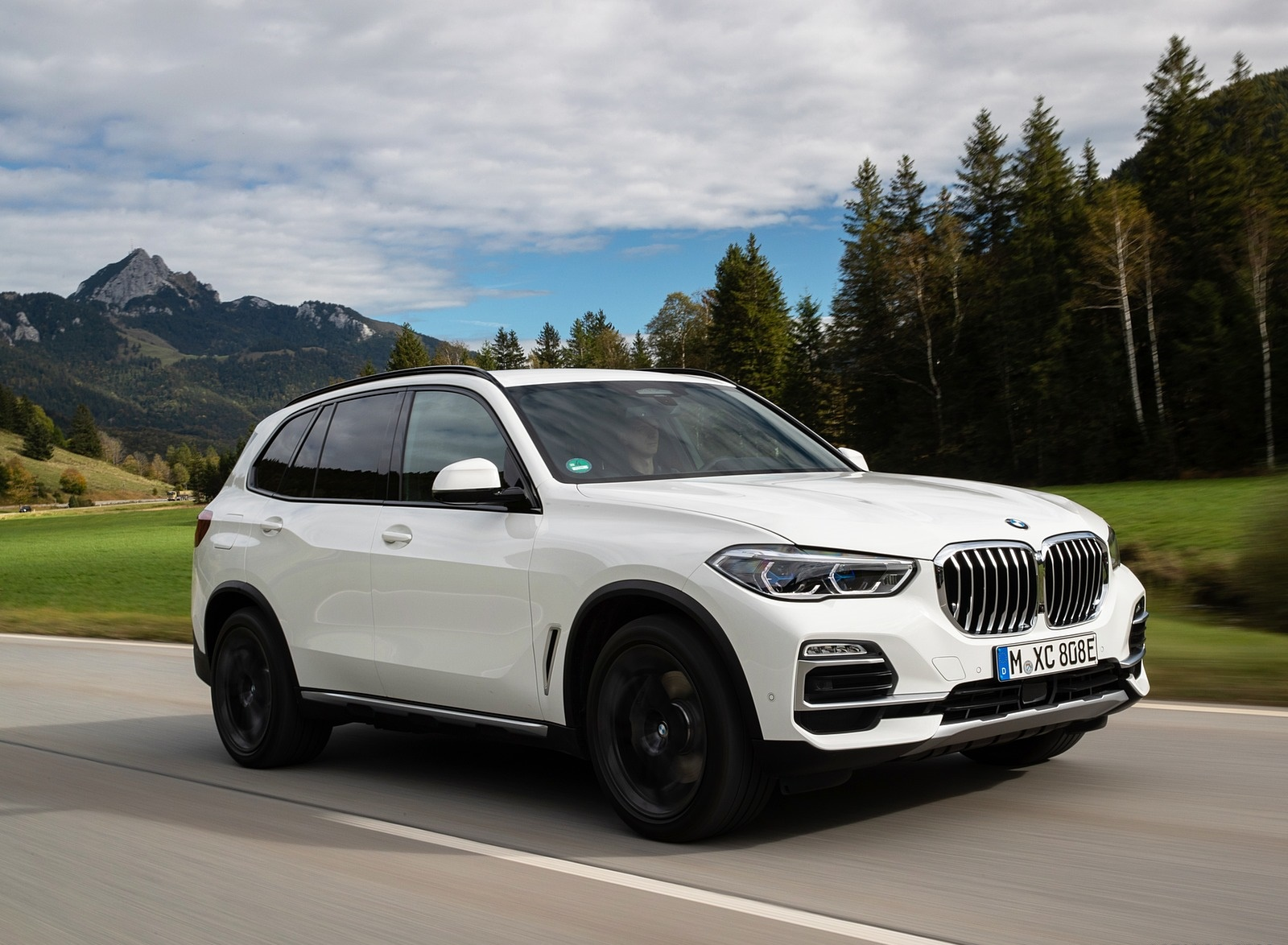 2019 BMW X5 xDrive45e iPerformance Front Three-Quarter Wallpapers (3)