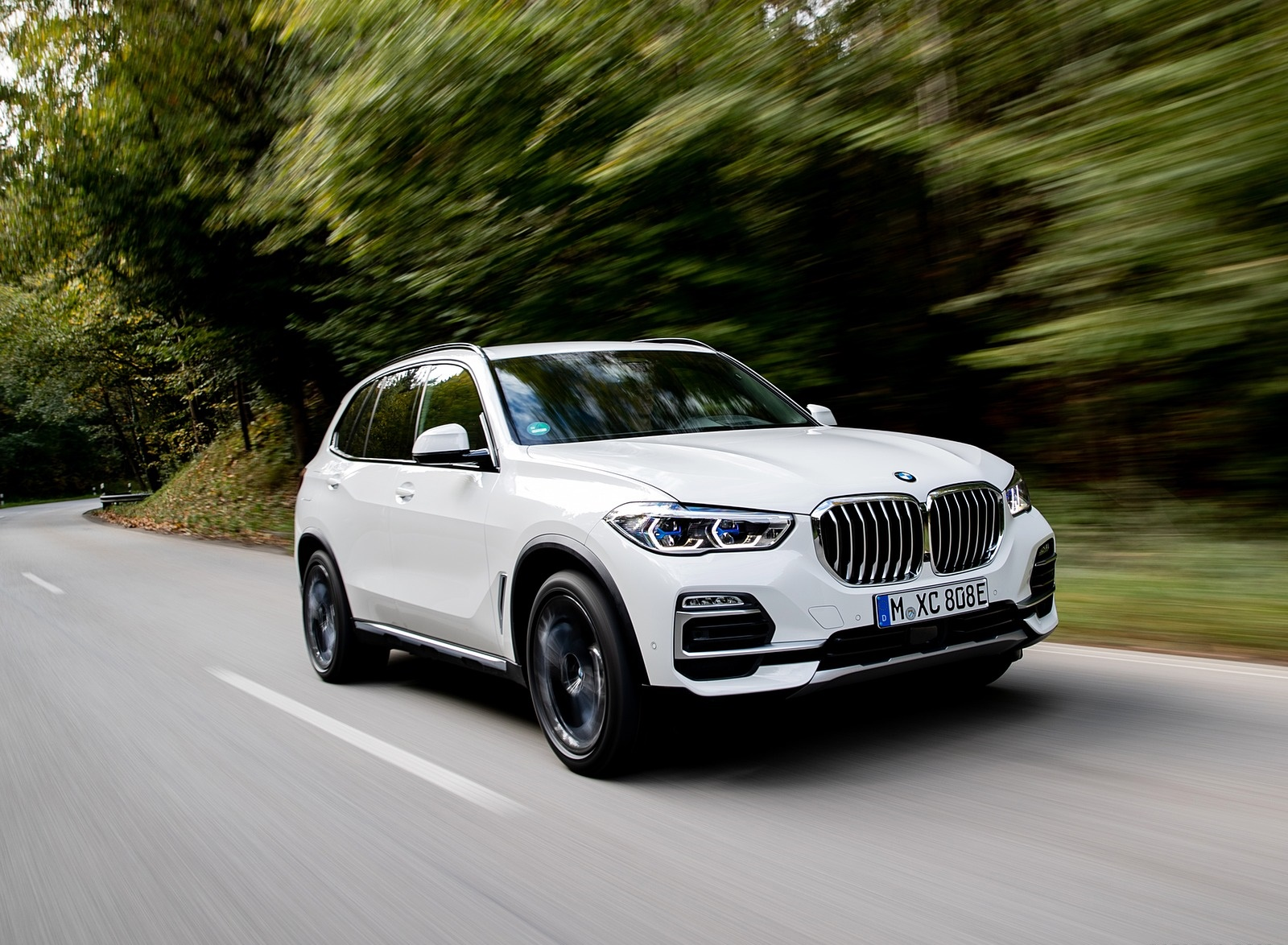 2019 BMW X5 xDrive45e iPerformance Front Three-Quarter Wallpapers (5)